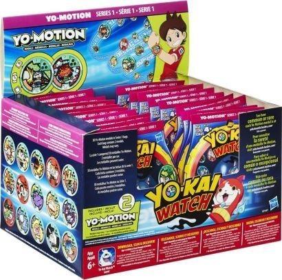 yo-kai yo-motion season 2 series 1 medallas - estuche de 24