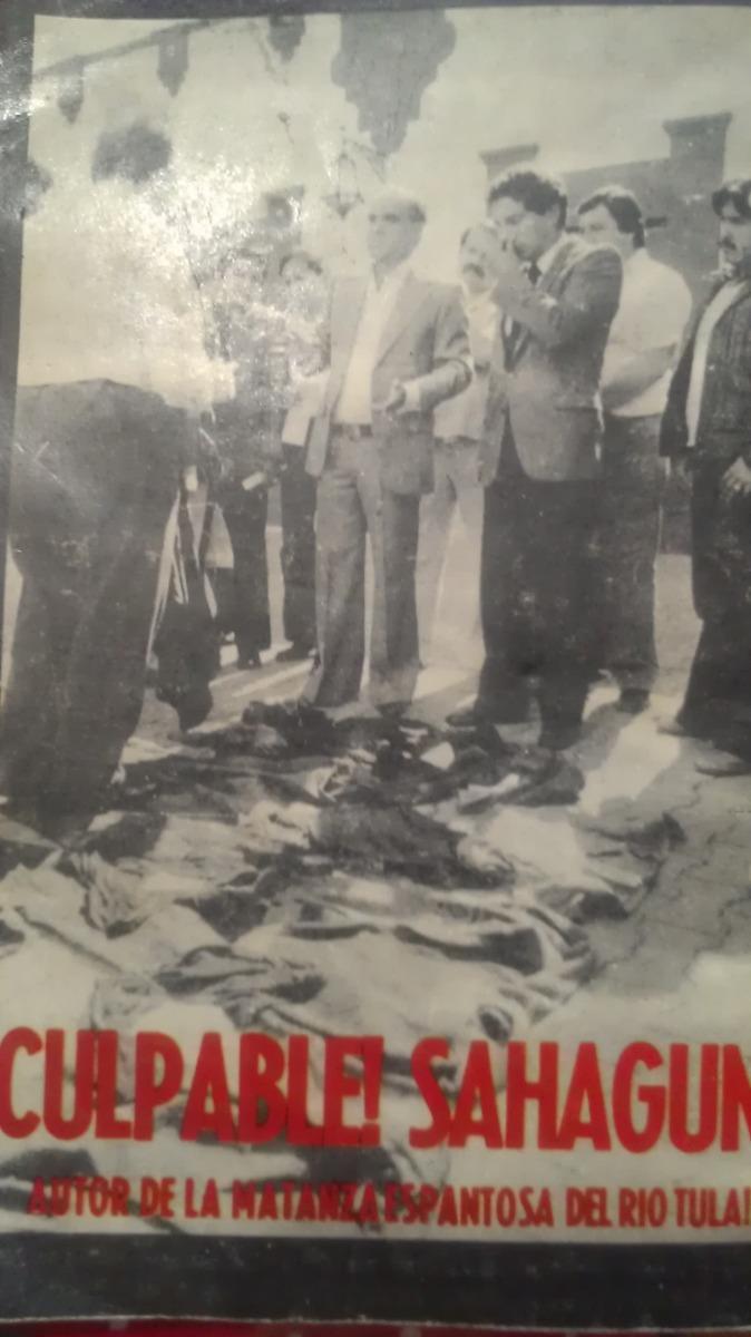 Resultado de imagen para la matanza del rio tula