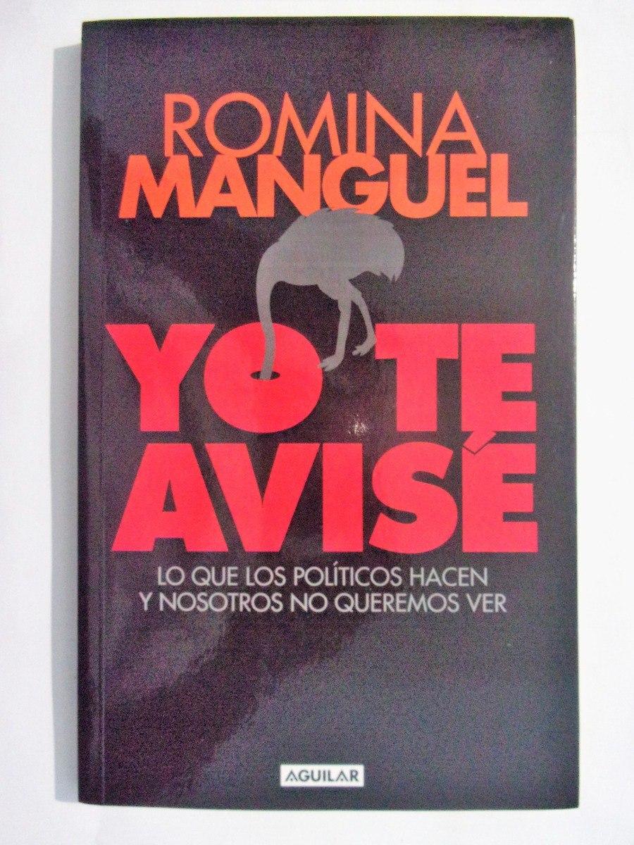 yo te avise romina manguel