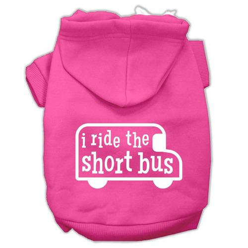 yo viajar en el autobús corto pantalla impresión mascotas