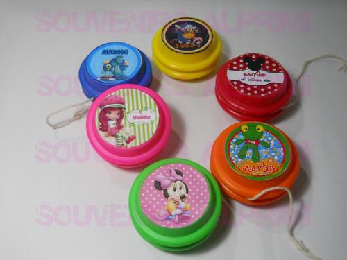 yo yo personalizados, souvenirs, juguetes packs x 10 unidade