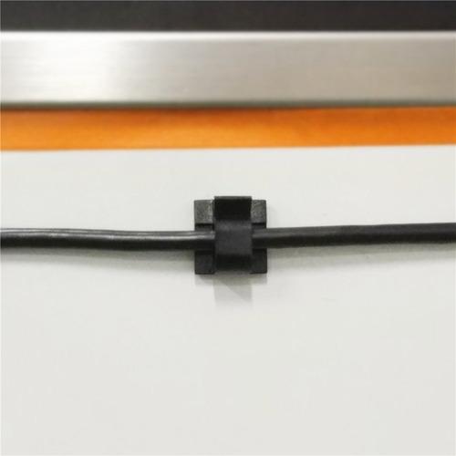 yocice abrazaderas de cable 60pcs con cintas adhesivas fuert