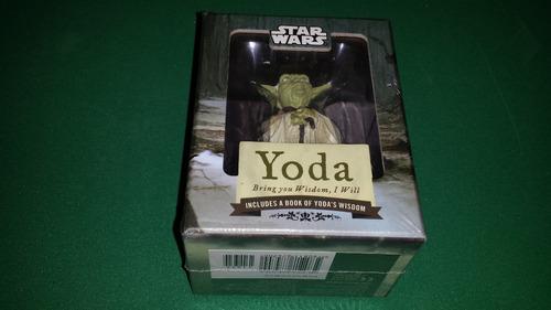 yoda bring you wisdom, i will boneco estátua guerra estrelas