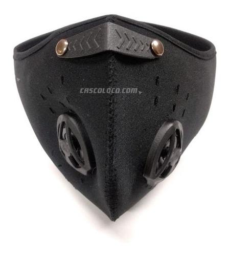 yofa antipolucion mascara con filtro moto proteccion dr1