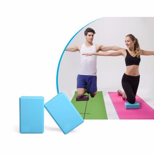 yoga brick, ladrillo 23x15x8 cm.  recien llegados
