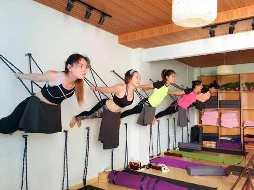 Yoga Cuerdas Iyengar Muralla 4x + Ganchos - Mat -   29.990 en ... 52ac38c94d47