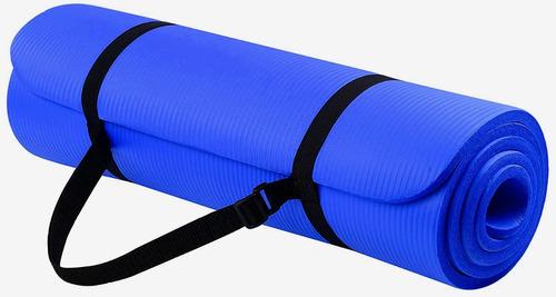 yoga durable mat de 10mm premiun grueso a1 + bolso sujetador