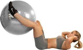 yoga fitness bola pilates