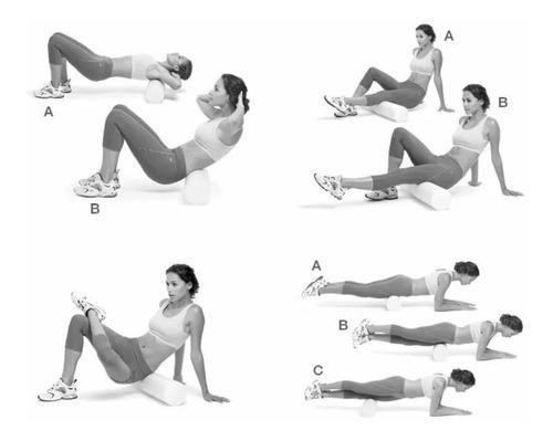 yoga fitness foam roller