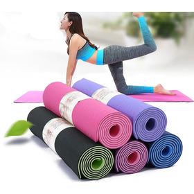 Yoga Mat Colchoneta Pilates Caucho Tpe Ecologico Unica Crazy