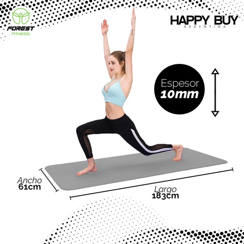 yoga mat fitness pilates