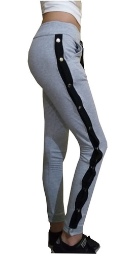 yogging pantalon babucha gimnasia mujer joggers gym boton