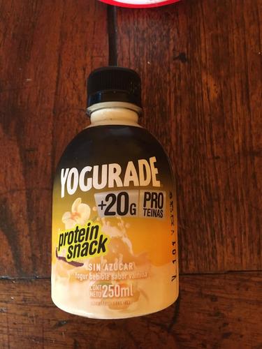 yogur proteico bebible descremado - 250ml x 10 unidades