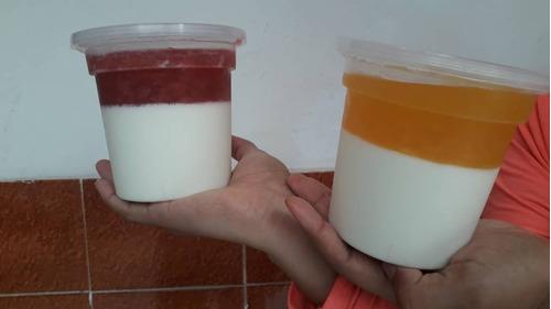 yogurt natural de frutas, 100% calidad
