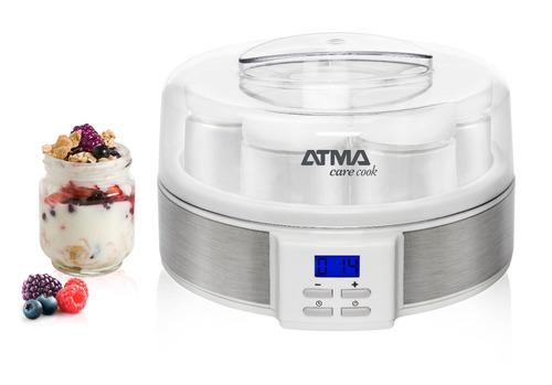 yogurtera con timer 7 yogures atma ym3010e