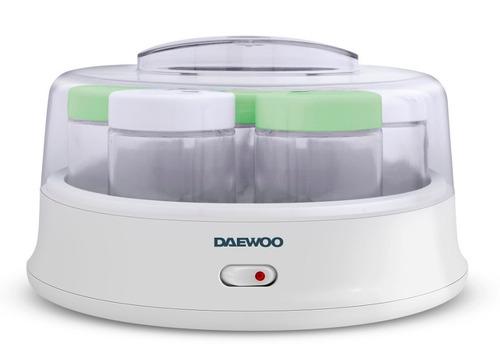 yogurtera daewoo ym-6716 7 jarros vidrio de 200ml