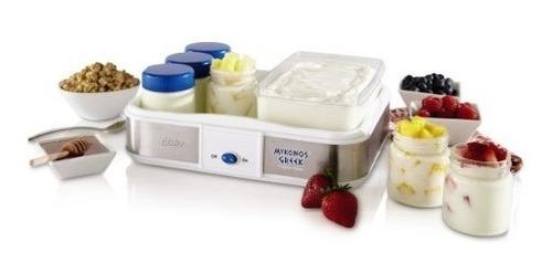 yogurtera de yogurt griego manual oster ckstym1010 mykonos