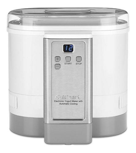 yogurtera electrónica con enfriamiento automático