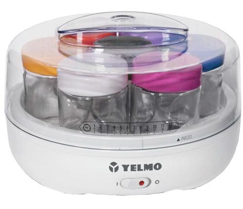 yogurtera fabrica de yogurt yelmo yg-1700 7 jarros pce rt