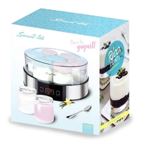 yogurtera smart tek ym750 digital 7 jarros recetario pce