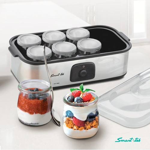 yogurtera smart tek ym800 digital 8 recip vidrio 1,4 litros