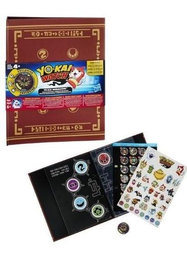 yokai - álbum de colección medallium - hasbro b5945