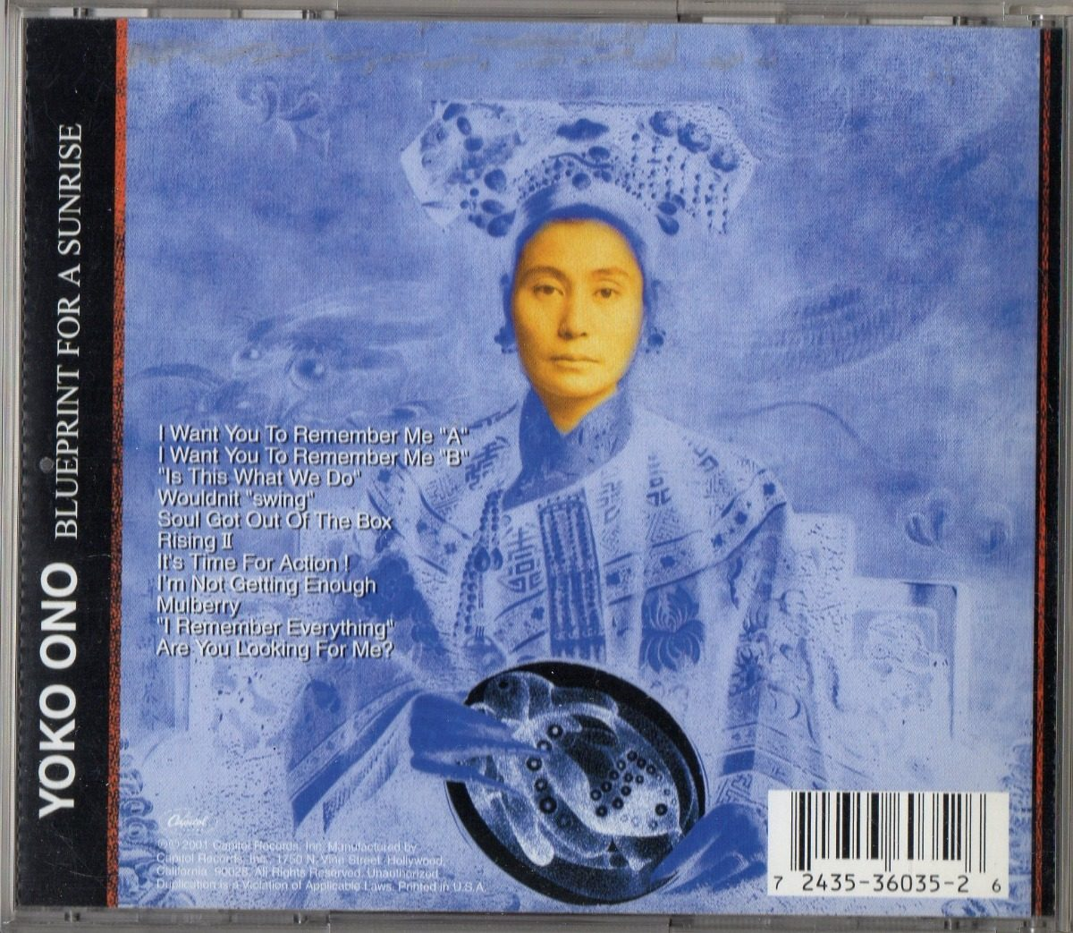 Yoko ono blueprint for a sunrise cd usa 2001 70000 en mercado libre cargando zoom malvernweather Choice Image
