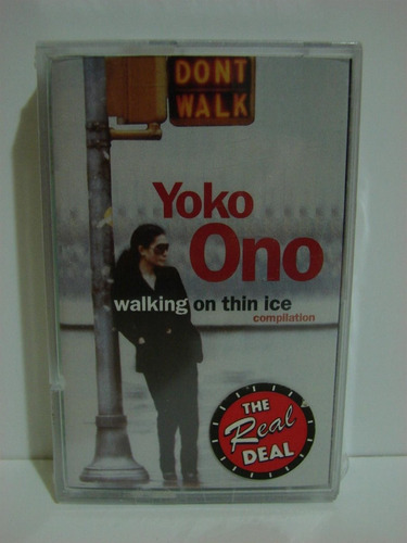 yoko ono walking on thin ice cassette beatles lennon