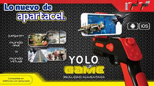 yolo game pistola juego de realidad virtual bluetooth