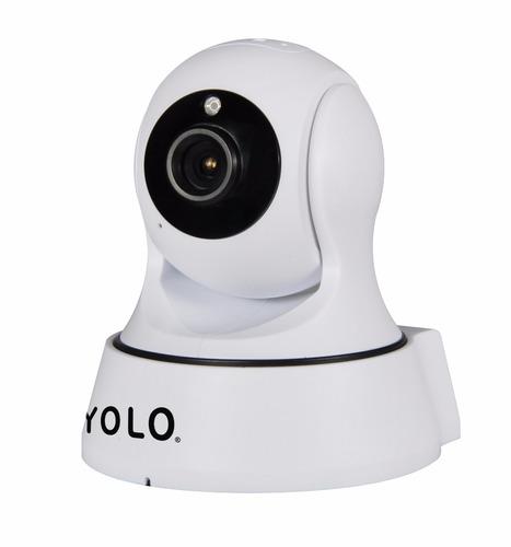 yolo gecko cámara  wifi panorámica 360° de seguridad