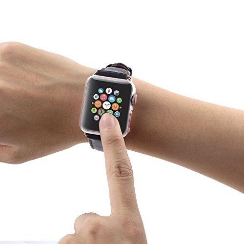 yolovie apple serie 3 reloj caso todoen torno a la caja prot
