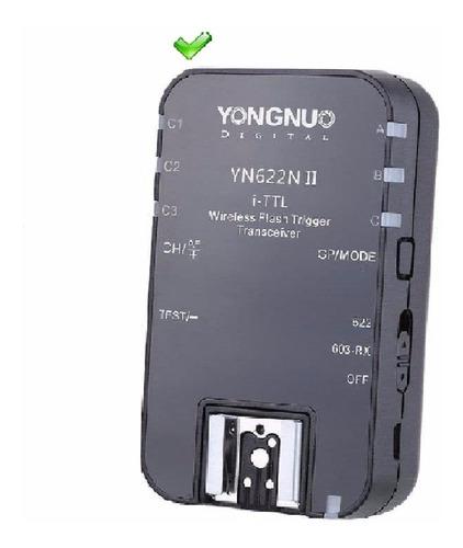 yongnuo radio flash yn 622 ii ttl  nikon peça avulsa
