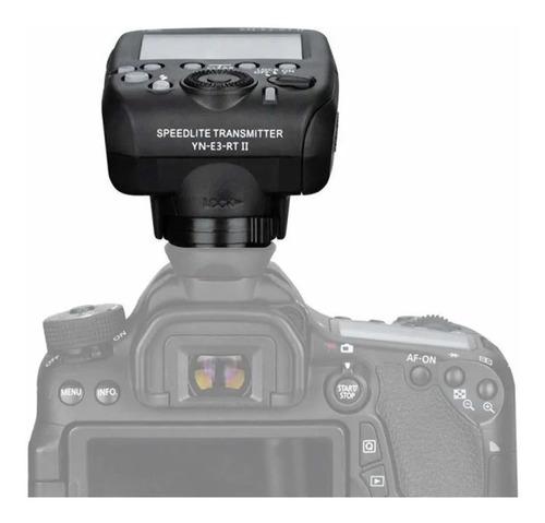 yongnuo yn-e3-rt controlador sincronizador flash canon 600ex