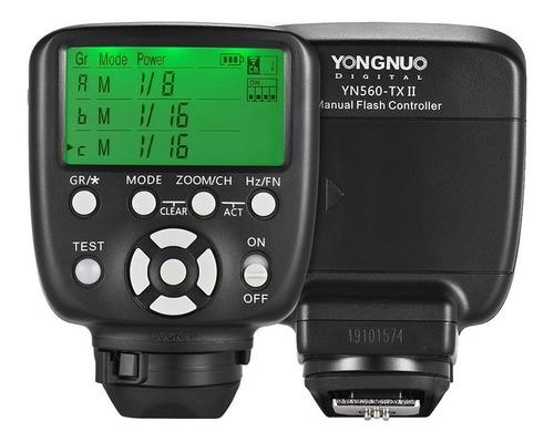 yongnuo yn560- tx ii manual flash gatilho remoto controlador