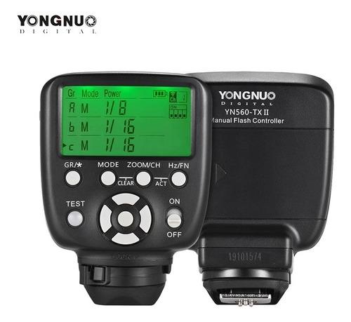 yongnuo yn560-tx para nikon controlador de disparo