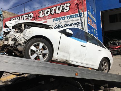 yonke chevrolet cruze aut 2011 refacciones partes huesario