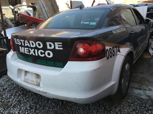 yonke dodge avenger aut 2012 refacciones partes huesario