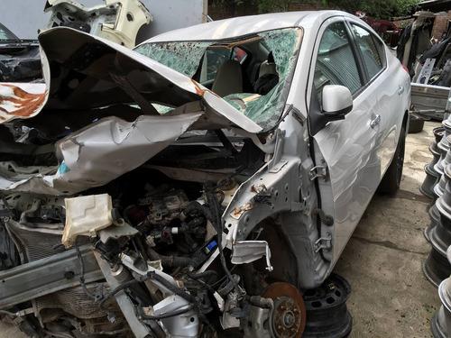 yonke nissan versa aut 2013 refacciones partes huesario