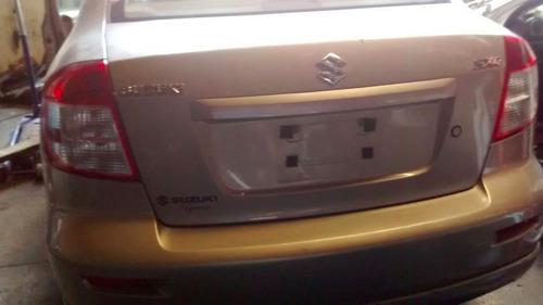 yonke suzuki sx4 sedan aut 2008 partes huesario refacciones