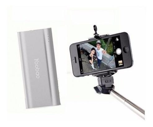yoobao selfie bateria s2 de 5.200 mah con disparador selfie