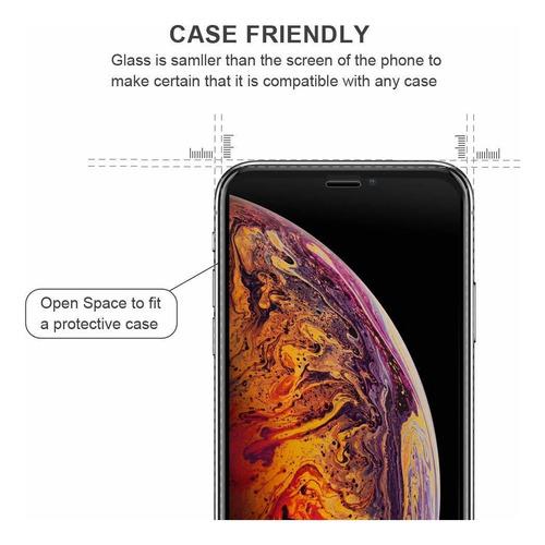 yooch vidrio templado protector de pantalla para iphone xs m