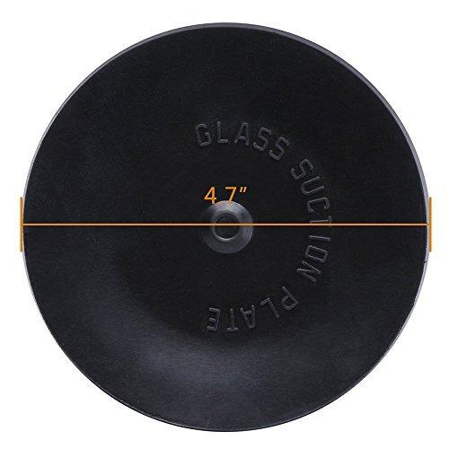 yoohe ventosa de aluminio negro ventosa extractor mango leva