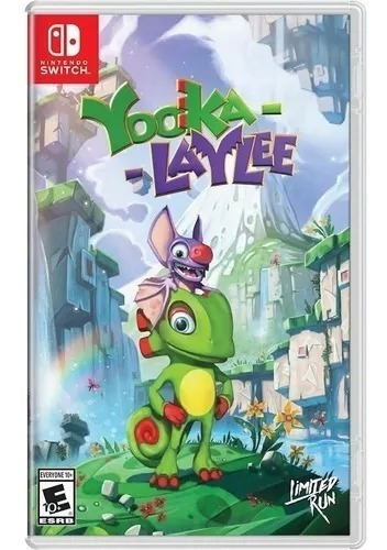 yooka-laylee - nintendo switch - nuevo - sellado