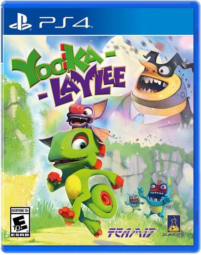 yooka-laylee - ps4 - juego fisico - megagames
