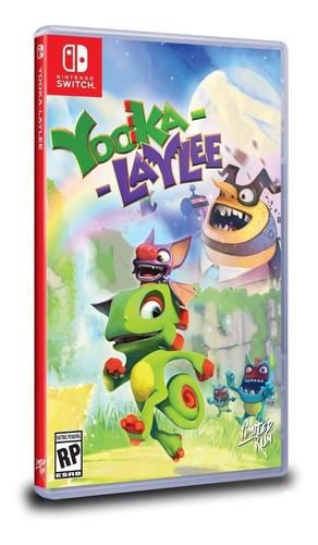 yooka laylee switch - fisico - sellado*
