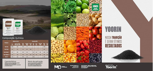 yoorin máster termo fosfato fósforo + silício + micros 5 kg
