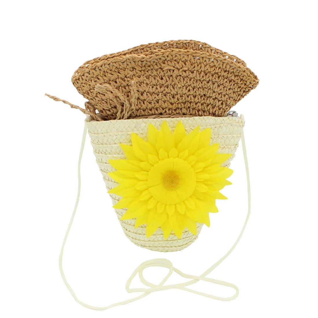 8bdb30df87862 Yopindo Hat Purse Set Sombrero De Sol Sombrero De Playa P ...