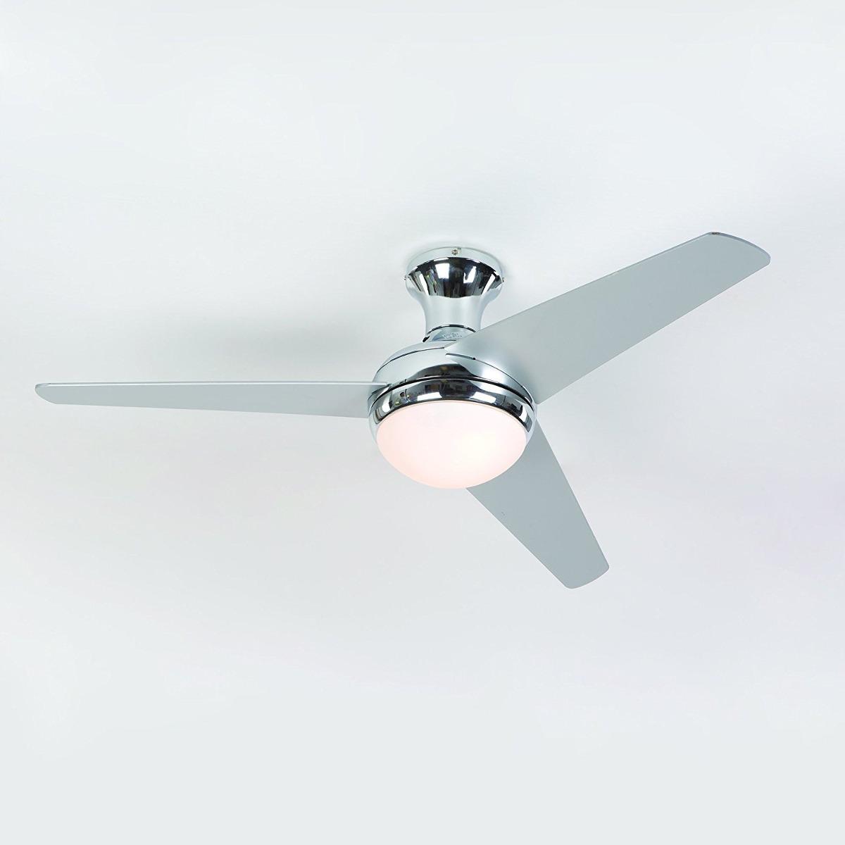 Yosemite home decor adalyn ch 48 inch ceiling fan in chrome 48 inch ceiling fan in chrome cargando zoom aloadofball Images
