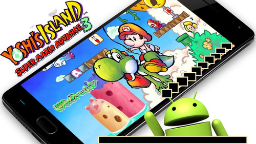 yoshi island super mario advance 3 android celular tablet