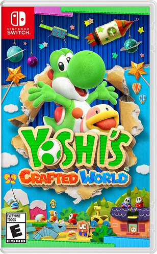 yoshi's crafted world nintendo switch + envio gratis